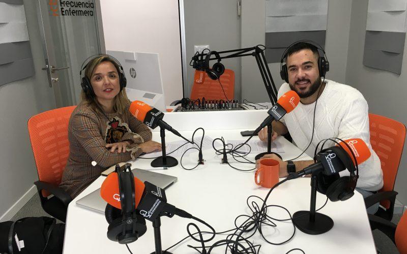 Presentación nuevo podcast en Frecuencia Enfermera